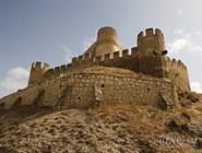 Вид на крепость и холм Бенакантиль