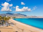 Пляж Altea Playa del Albir в окрестностях Аликанте