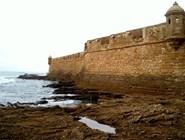 Крепость Сан-Себастьян на атлантическом побережье