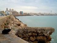 Порт города Кадис