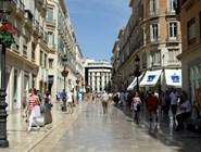 Улица Marques de Larios в Малаге