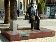 Памятник Г. Х. Андерсену в Малаге