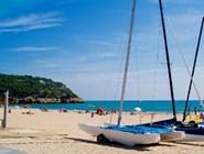 Пляж La Mora на востоке Таррагоны