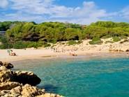 Небольшой пляж Capellans
