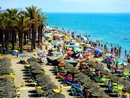 Пляж Торремолиноса