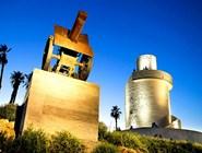 Смотровая башня и пушка в Торремолиносе