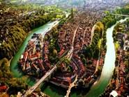 Вид на Старый город Берна