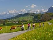 Велосипедные прогулки вокруг Интерлакена