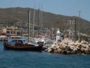 Яхты в гавани Измира