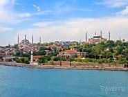 Вид на Стамбул с Босфора