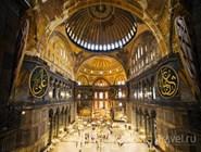 Интерьер мечети Айя-София