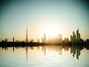 Рассвет над Дубаем