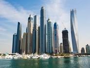 Небоскребы района Дубай-Марина