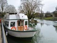 Экскурсионный кораблик на реке Эйвон