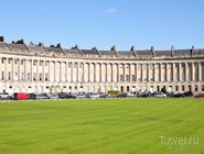 Вид на Royal Crescent