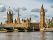 Биг-Бен, Вестминстерский дворец и Вестминстерский мост