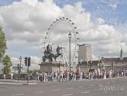 Вестминстерский мост и London Eye