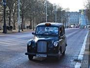 """Такси """"Black Cab"""" - один из символов города"""