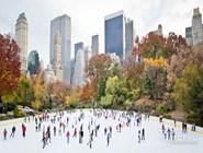 Катание на коньках в Центральном Парке