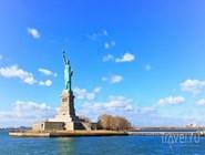 Панорамный вид на Статую Свободы