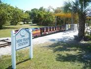 Миниатюрная железная дорога в Virginia Key Beach Park