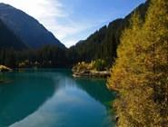 Озеро Verwallsee в Санкт-Антоне
