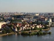 Панорама исторического центра Минска