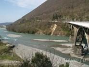 Мост через реку Гумиста