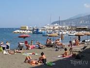 Городской пляж Marina Grande