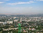 Вид на город с Коктобе
