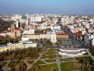 Хабаровск с высоты птичьего полета