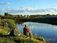 Рыбалка - популярный вид отдыха в Костроме