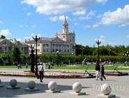 В центре Новороссийска