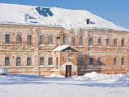 Кирпичное здание в Перми