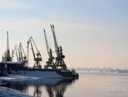 Речной порт на Каме