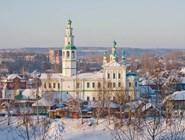 Пермь зимой