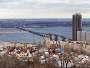 Осенняя панорама Саратова