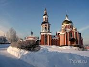 Свято-Алексиевский монастырь зимой