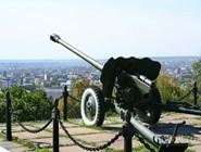 Военная техника в парке Победы