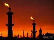 Огонь Ростральных колонн