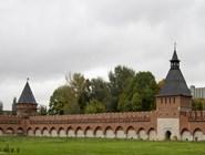 Стена кремля в Туле