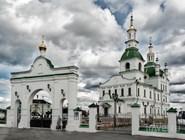 Восстановленный в Ялуторовске Сретенский собор