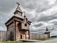 Острог, воссозданный к 350-летию Ялотуровска