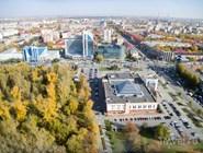 Вид на Тюмень: современная застройка улицы Республики