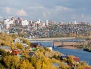 Уфа и река Белая