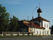 Старинная церковь в Вологде