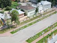 Сквер в Вологодском кремле