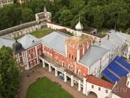 Вологодский кремль с высоты птичьего полета