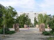 Центральный мемориал Парка памяти на Спартановке