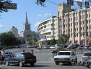 На улице в Волгограде